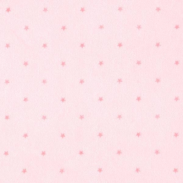 Nicki Stoff Sternchen – rosé/rosa