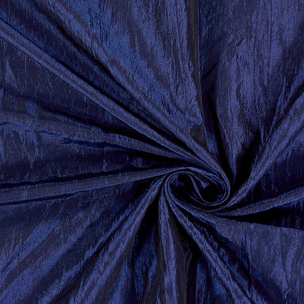 Taftstoff Crash – marineblau