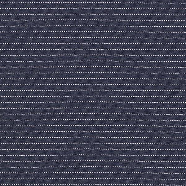 Jersey coton Rayures horizontales fines – bleu marine