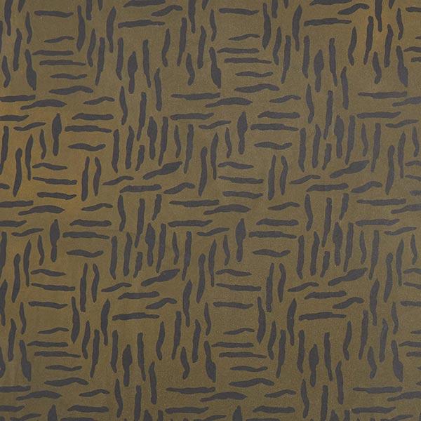 Tissu de veste Oilskin rayures zébrées abstraites