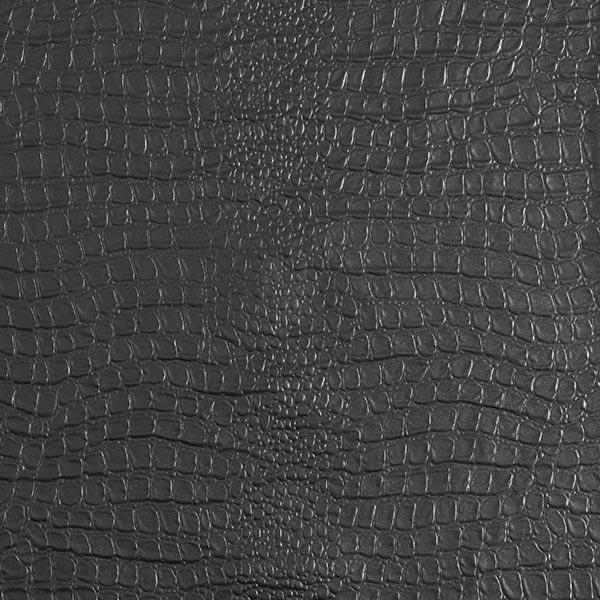 Tissu pour veste de pluie très léger peau de serpent – noir