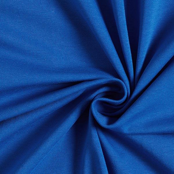 Baumwolljersey Medium Uni – königsblau