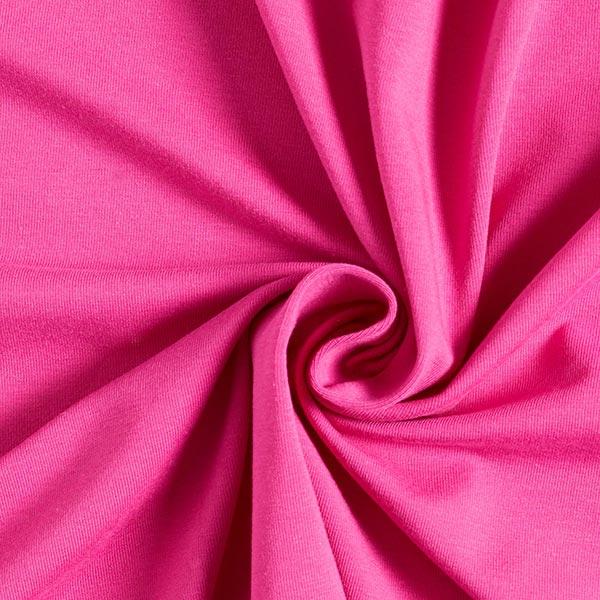 Jersey coton Medium Uni – rose vif