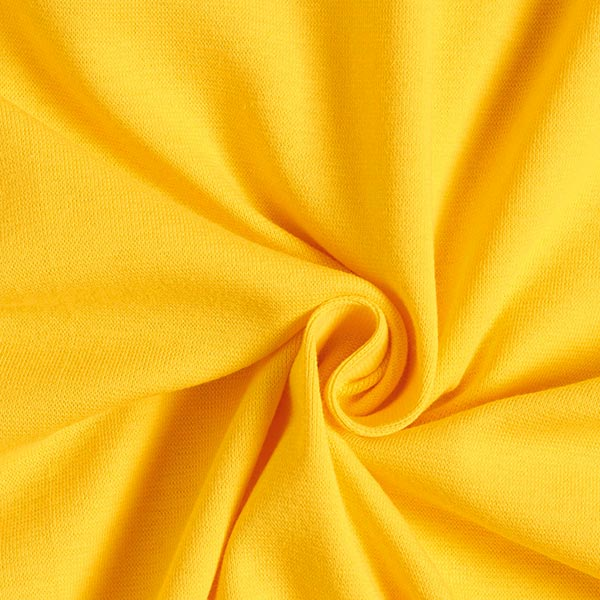 Bündchenstoff – gelb