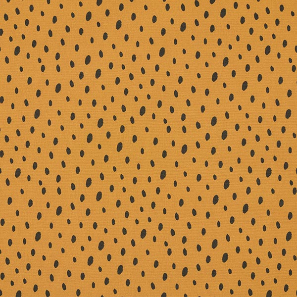Softshell Flecken | by Poppy – gelbbraun/schwarz