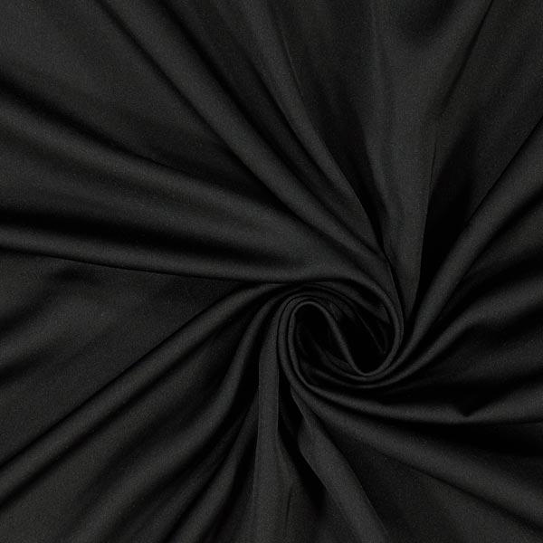 Satin microfibre – noir
