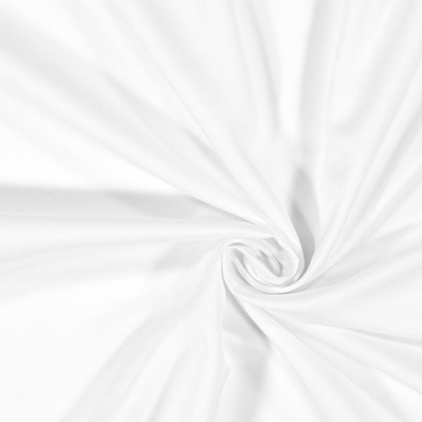 Satin microfibre – blanc