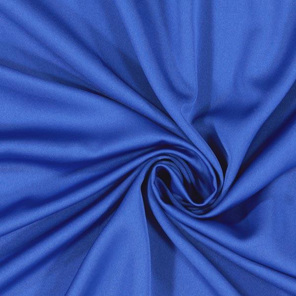 Satin microfibre – bleu roi