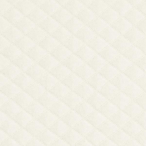 Jersey matelassé – écru