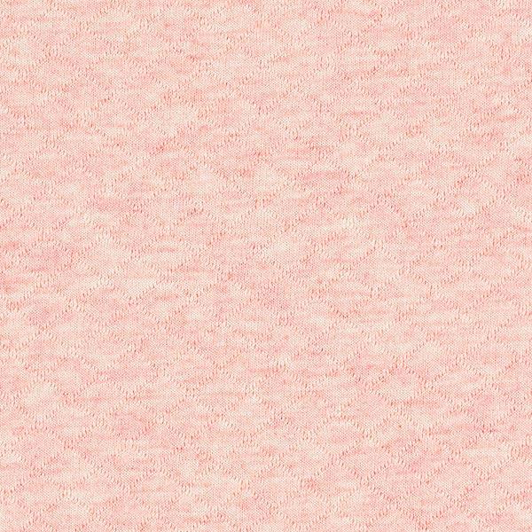 Jersey matelassé – rosé