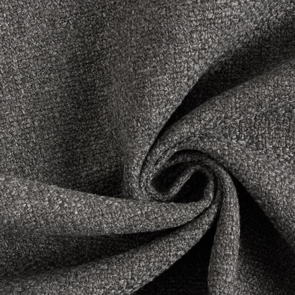 Tissu de décoration et d'ameublement Chiné recyclé – gris foncé