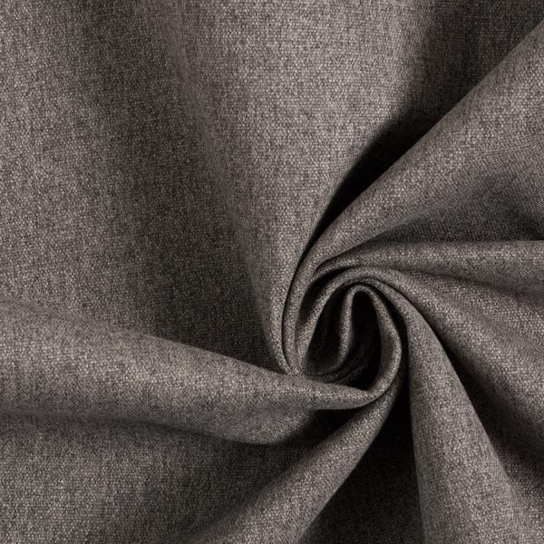 Tissu de décoration et d'ameublement Aspect laine – gris foncé