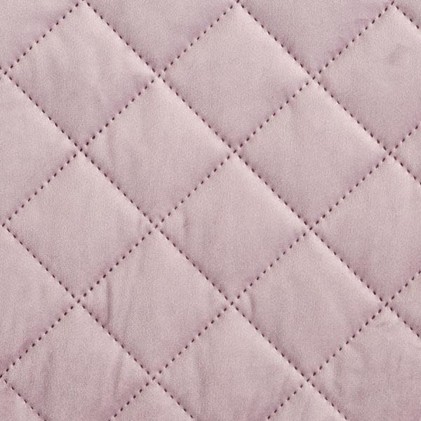 Möbel- und Polsterstoff Samt Steppstoff – pastellflieder