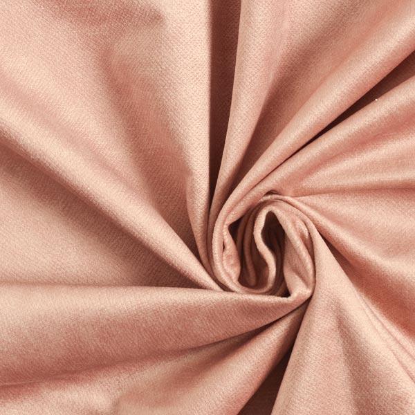 Tissu de décoration et d'ameublement Velours convient aux animaux domestiques – vieux rose