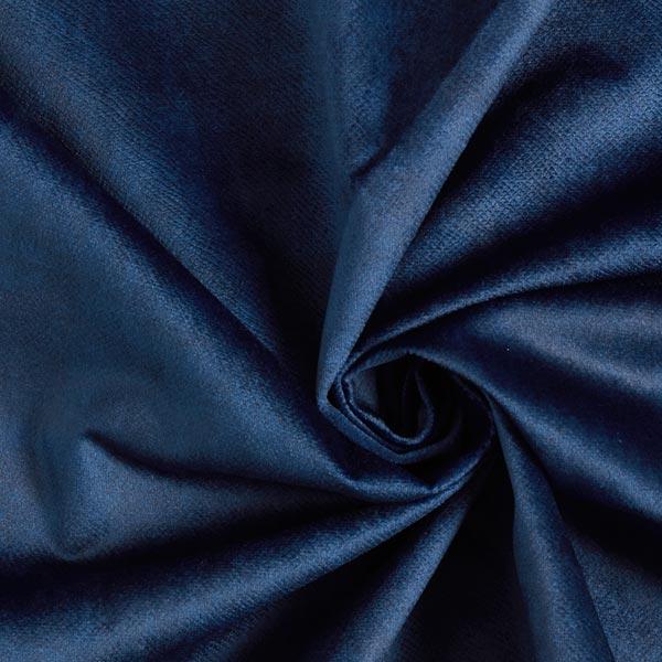 Tissu de décoration et d'ameublement Velours convient aux animaux domestiques – navy