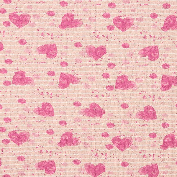 Tricot fin à rayures et touches de couleurs – rosé