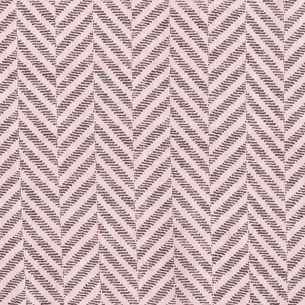 Voile Fischgrad-Optik – rosa