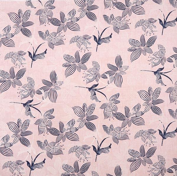 Voile Palmenblätter – rosa