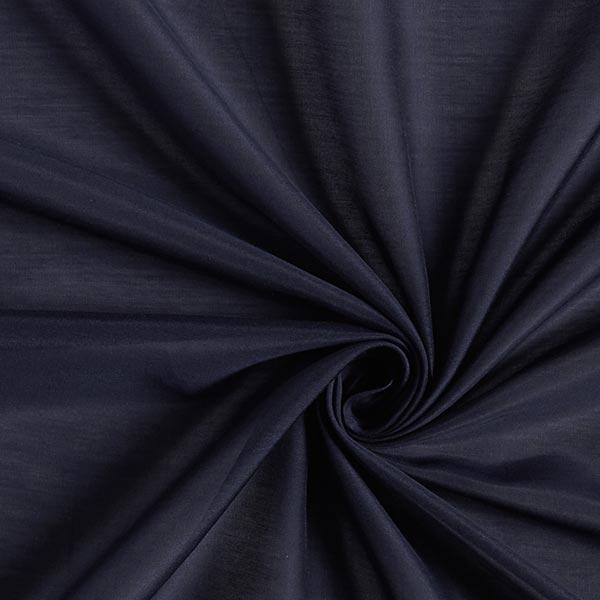 Superleichtes Baumwoll-Seidengewebe Voile – marineblau