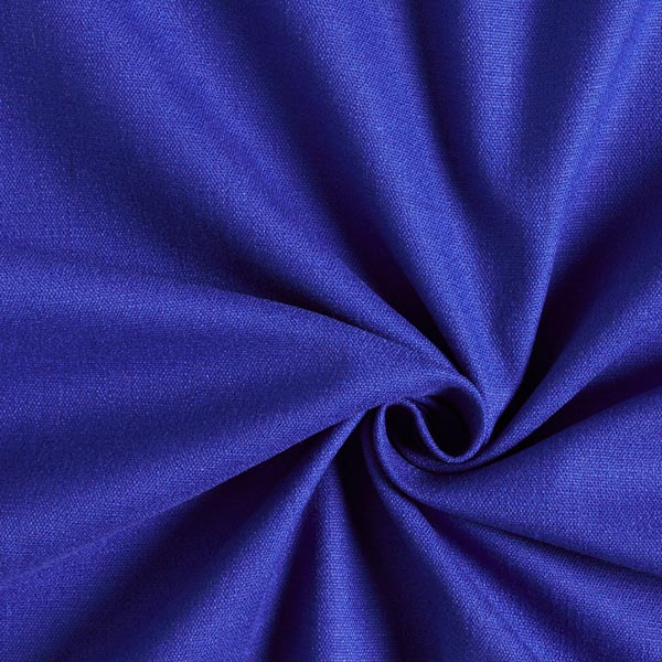 Tissu en lin stretch Mélange – bleu roi