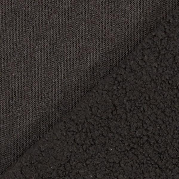 100 % polaire de coton – noir