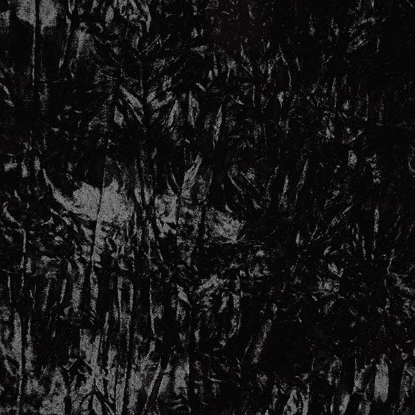 Velours froissé – noir