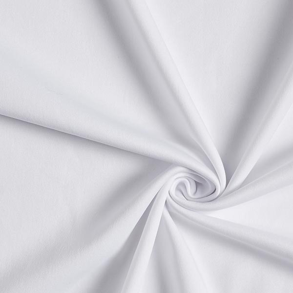 Scuba crêpe léger – blanc