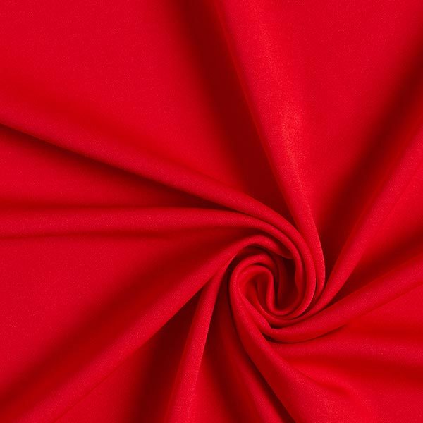 Scuba crêpe léger – rouge