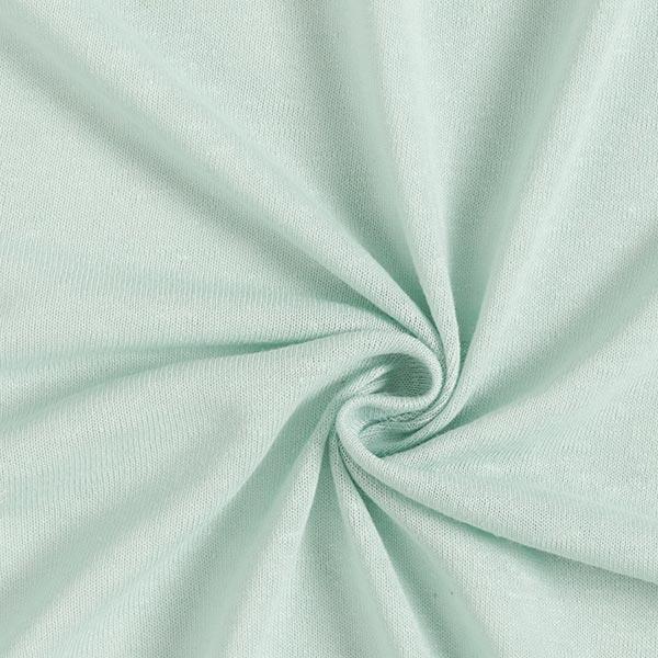 Jersey mélange lin-viscose uni – vert pastel