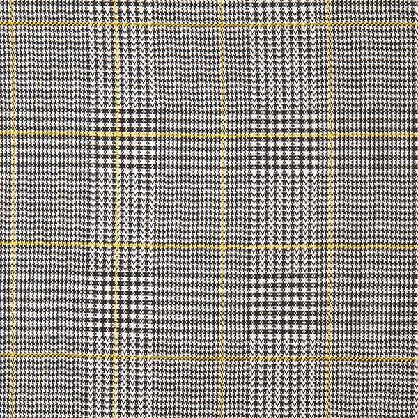 Tricot jacquard Prince de Galles – jaune