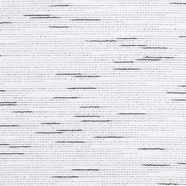 Tissu maille Aspect bouclé – blanc/noir