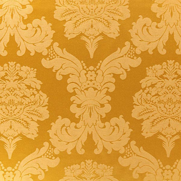 Dekostoff Jacquard Damasco 280 cm – gold