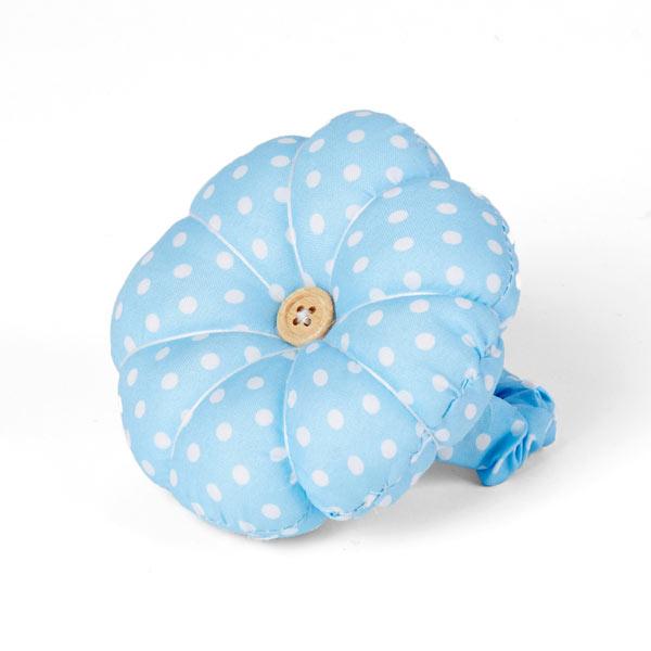 Nadelkissen Blüte – blau