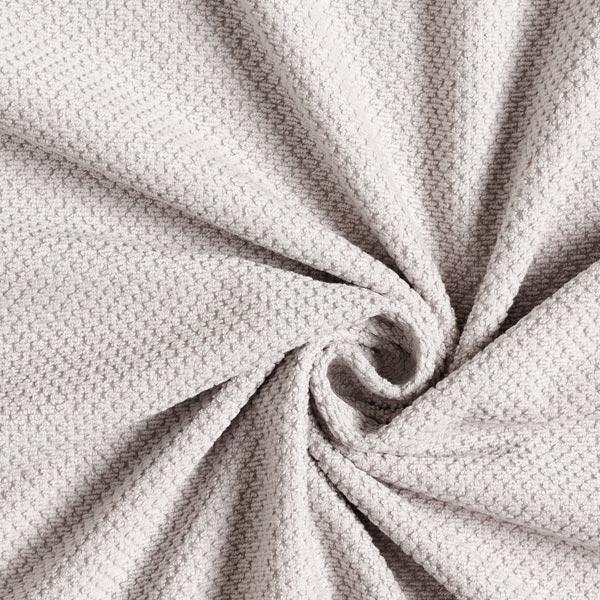 Tissu éponge structuré douillet – gris clair