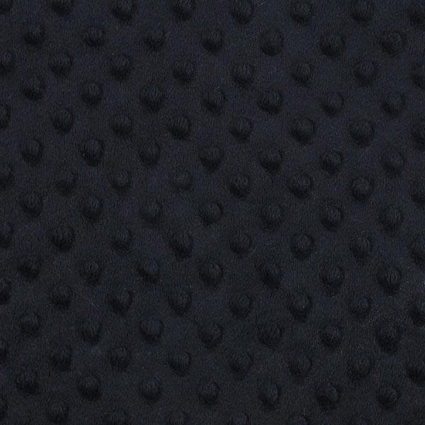 Wellnessfleece Punkte - schwarz