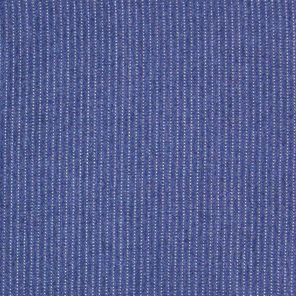 Chambray Jeanslook Streifen – marineblau