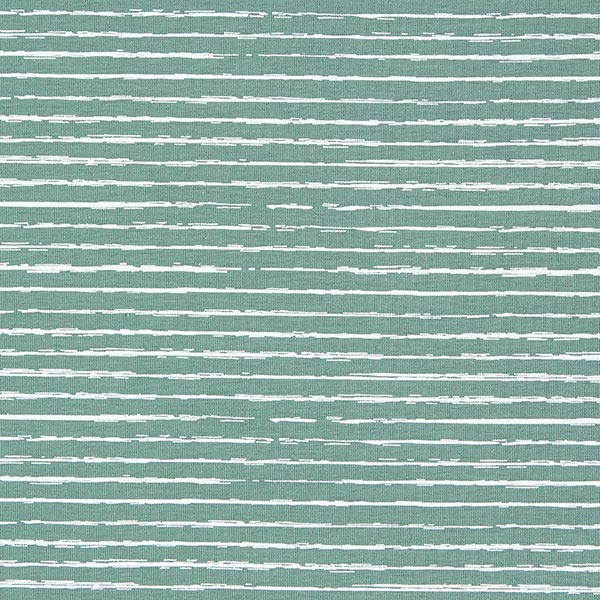 Baumwolljersey Skribbel-Streifen – schilf