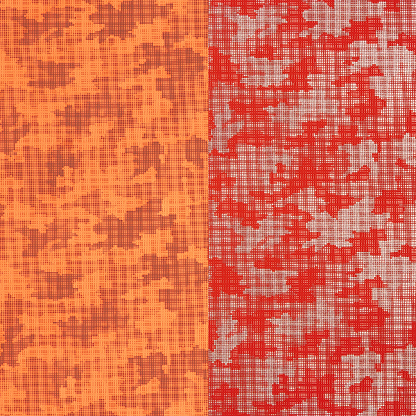 Softshell Camouflage Réflecteur – orange néon