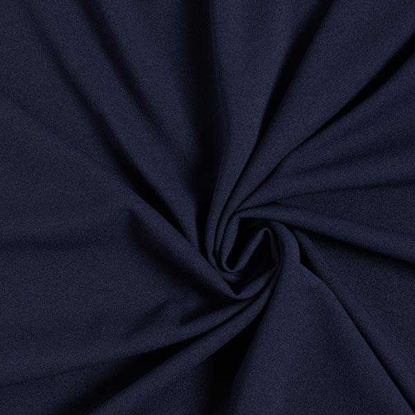 Leichter Crêpe-Scuba – marineblau