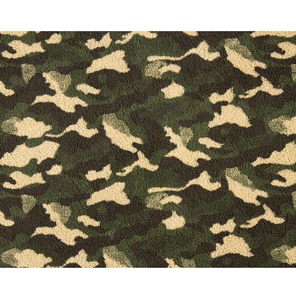Teddyfleece Camouflage – olive foncé