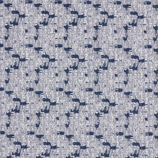 Querelastischer Bekleidungsjacquard  Abstrakt – jeansblau