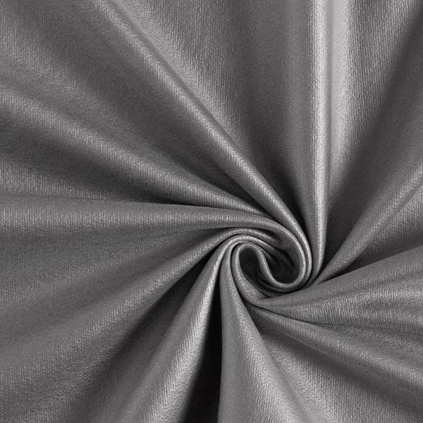 Sweat en coton enduit Aspect similicuir – noir
