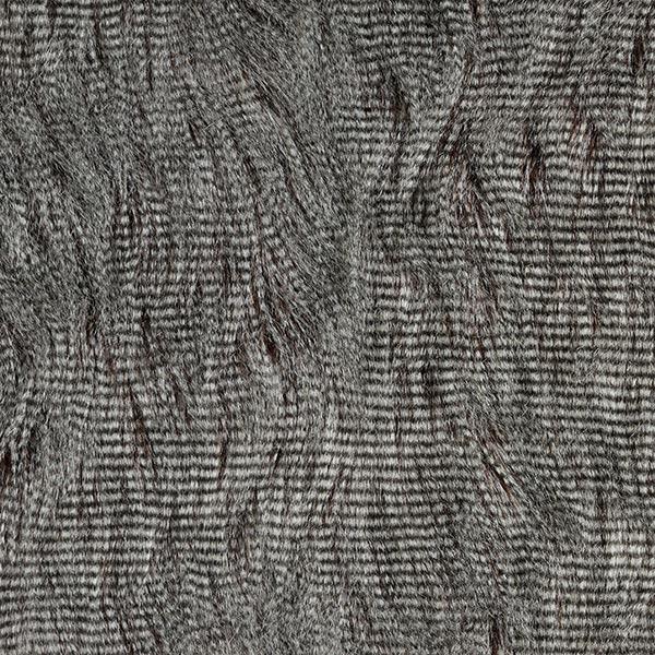 Kunstfell Filippa – hellgrau/dunkelbraun