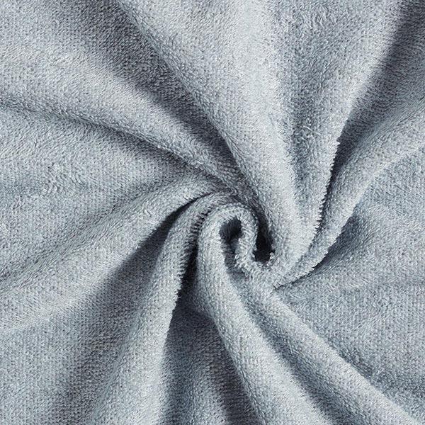 Tissu éponge doux uni – bleu clair