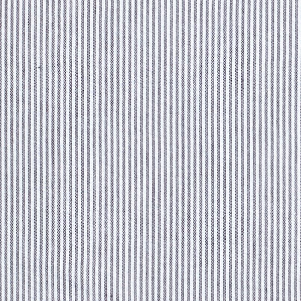 Seersucker Rayures verticales fines – bleu marine/blanc