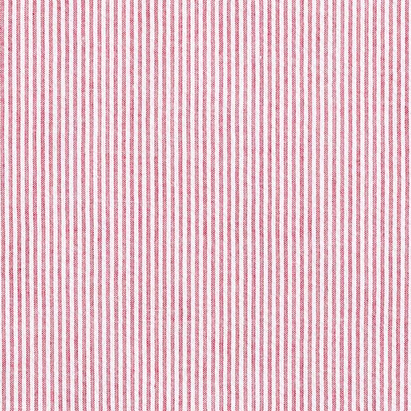 Seersucker Rayures verticales fines – rouge/blanc