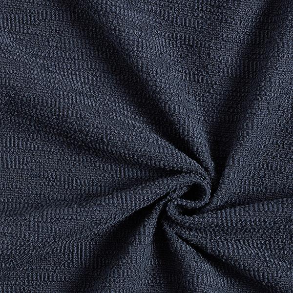 Maille coton bouclé – noir