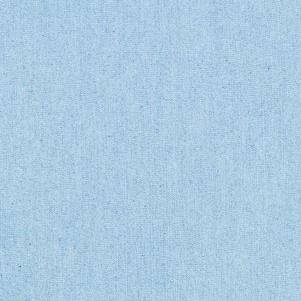Chambray uni stretch léger – bleu jean