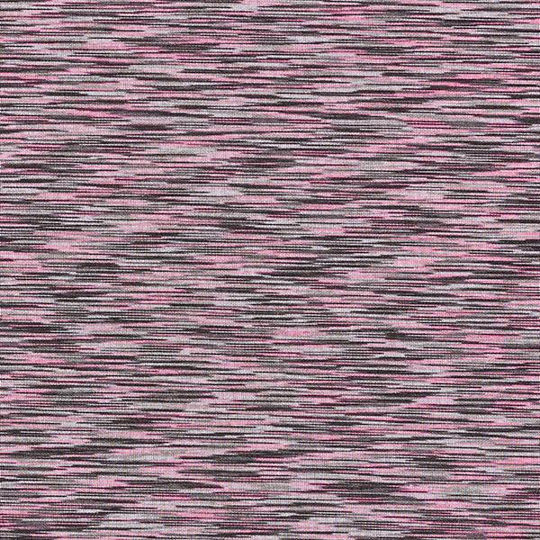 Scuba Motif chiné – rose vif/noir