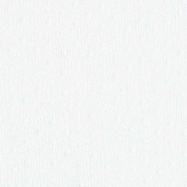 Crêpe Chiffon Petits pois de flock – blanc